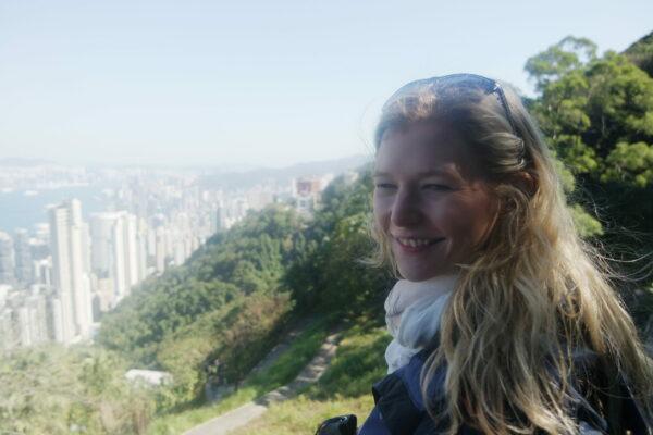Elisabeth Fechner in Hongkong